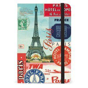 Eiffel Tower Paris Collage Notebook